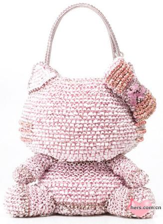 kitty猫包包编织图解