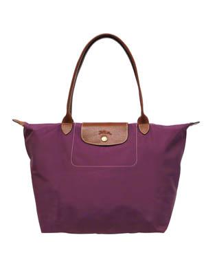 Longchamp中号短柄饺子包