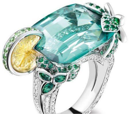 Mojito款宝石戒指