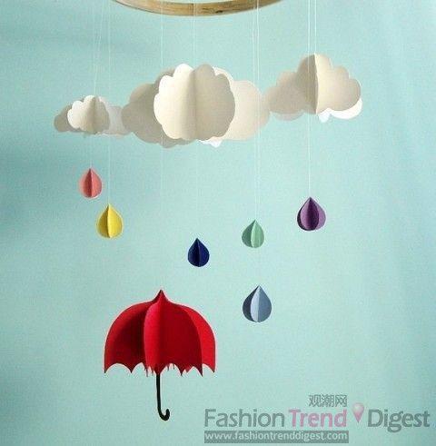 幼儿简笔画云朵和彩虹