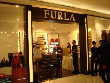位于新光天地3层的Furla精品店