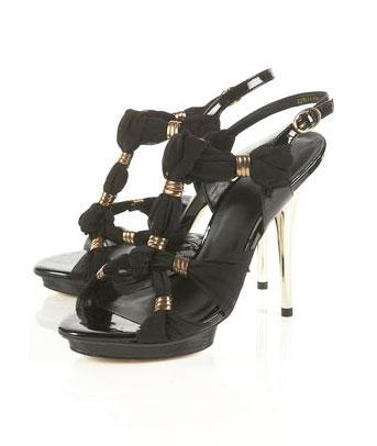 Rhonda 黑色高跟鞋