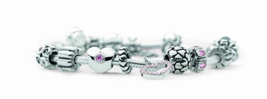 Pandora奢侈银质手链