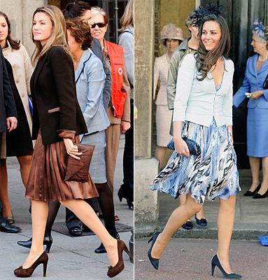王妃穿裙子搭配图片