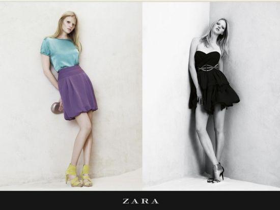 zara搭配衣服图片