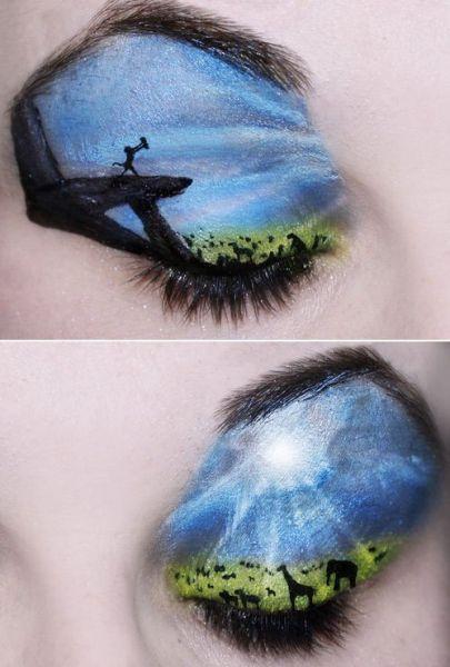 创意彩绘眼妆 演绎心中的经典童话
