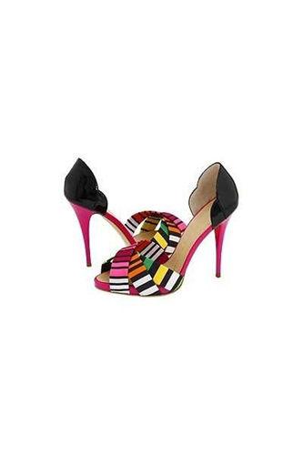 Giuseppe Zanotti七彩凉鞋