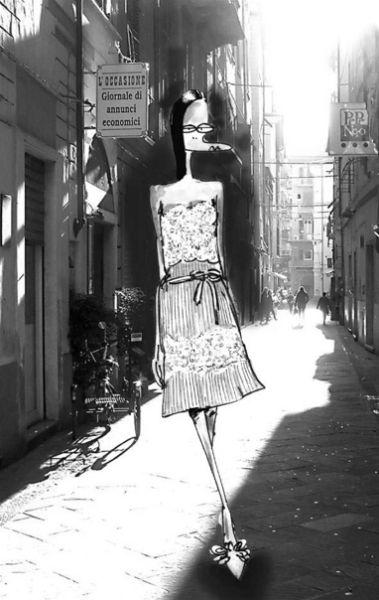 Polly Bean时尚街拍
