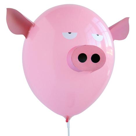 气球也有猪耳朵 动物造型气球抢先看