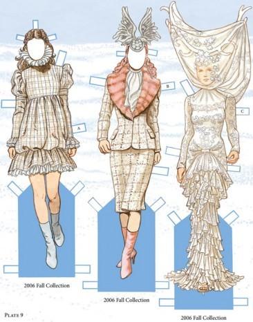 做纸娃娃的衣服步骤及图片