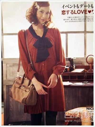 日本杂志冬季流行搭配单品去哪买