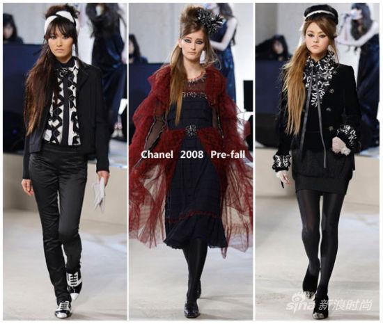 Chanel 2008早秋系列秀场
