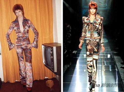 David Bowie 和 Jean Paul Gaultier