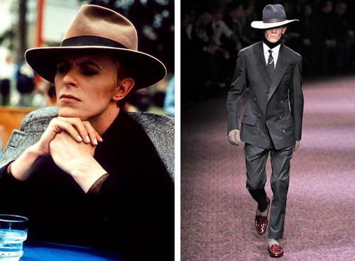 David Bowie 和 Lanvin