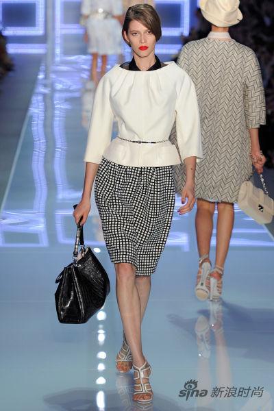 Christian Dior 2012春夏秀场