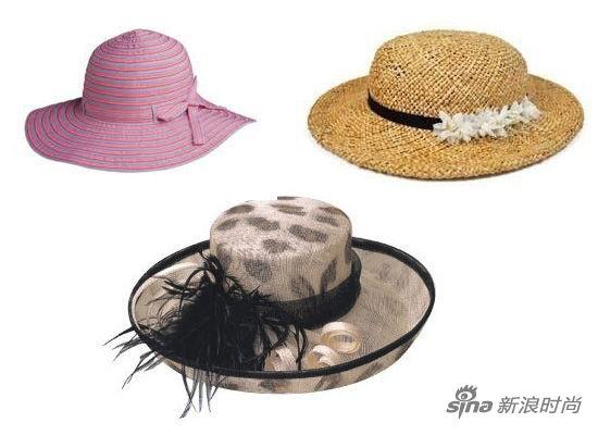 宽沿遮阳帽