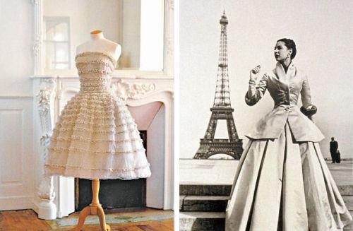 New Look经典造型和成为Dior招牌的New Look沙漏裙