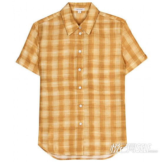 土色格子衬衫 品牌Marc Jacobs 价格2221元