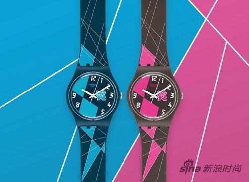 斯沃琪2012伦敦奥运会纪念腕表