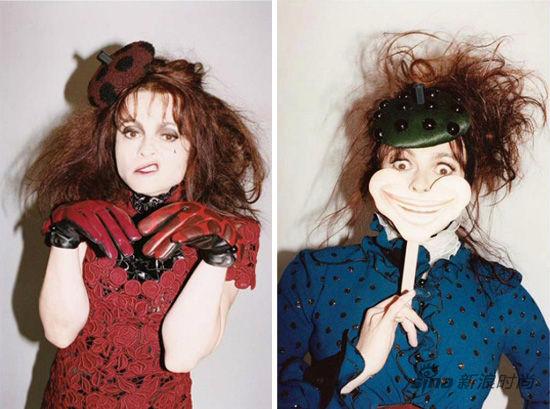 Helena Bonham Carter 为 Marc Jacobs拍摄广告大片