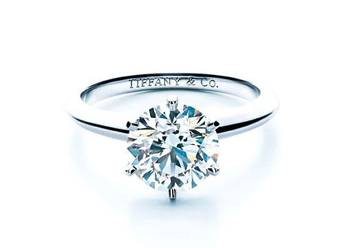 Tiffany六爪婚戒