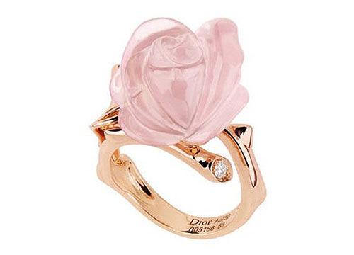 Dior玫瑰系列戒指