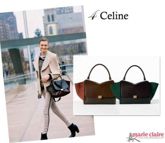 Céline Trapeze手袋