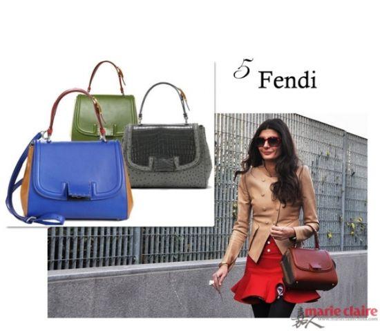 FENDI Silvana手袋