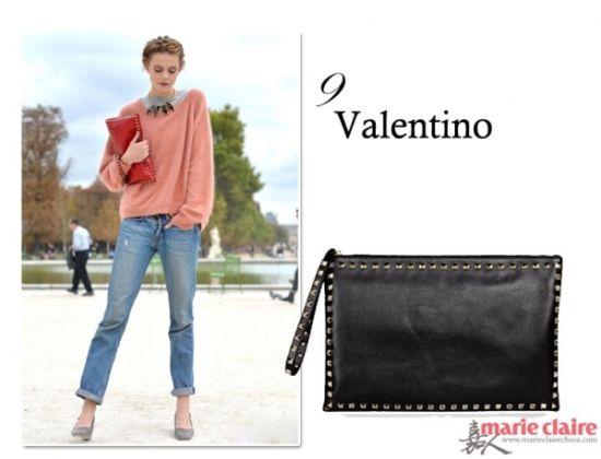 Valentino 铆钉手包