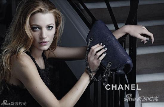 Blake Lively 出演Chanel 2011春夏手包大片