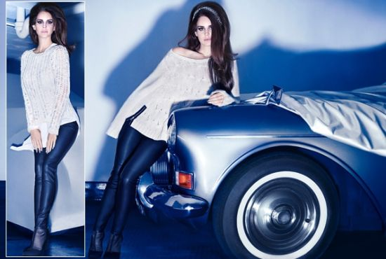 Lana Del Rey For H&M 广告被批PS严重