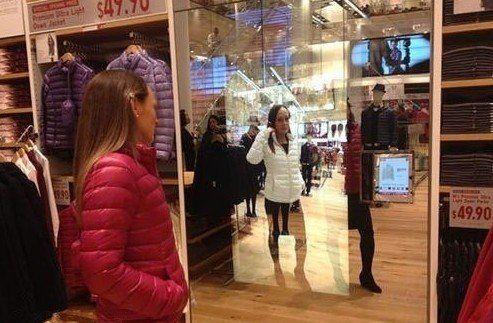 快时尚优衣库美国新店引入NDP虚拟试衣系统
