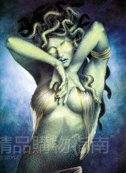 希腊神话中的美杜莎图片