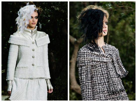 Chanel 2013春夏巴黎高级定制秀场 羽毛发饰