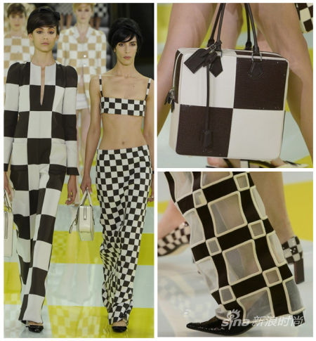 Louis Vuitton 2013春夏棋盘格