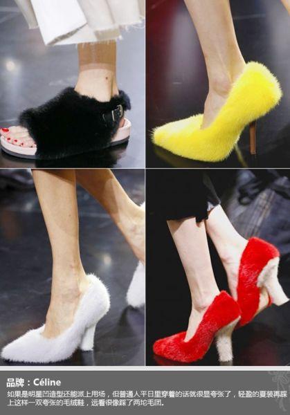 Céline春夏高跟鞋