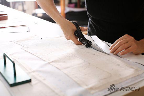 服装设计裁剪纸板