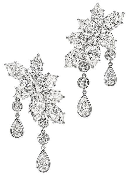 雪花状珠宝手绘