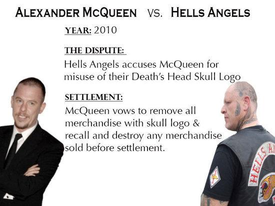 Alexander McQueen VS Hells Angels