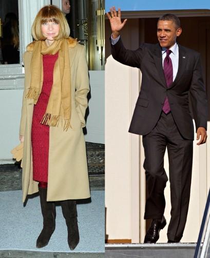 作为Obama夫妇的公开代表,Anna Wintour谈论Obama夫妇甚至比自己还多