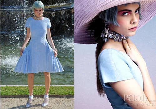 2013超模新面孔 92年Cara逆襲時尚圈